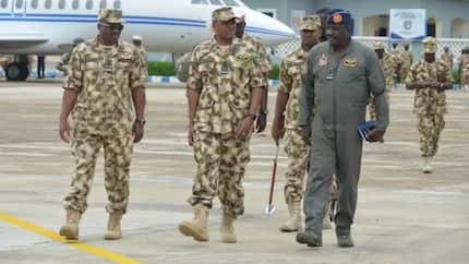 The reason behind my visit to Zamfara state - Chief of Air Staff Abubakar explains