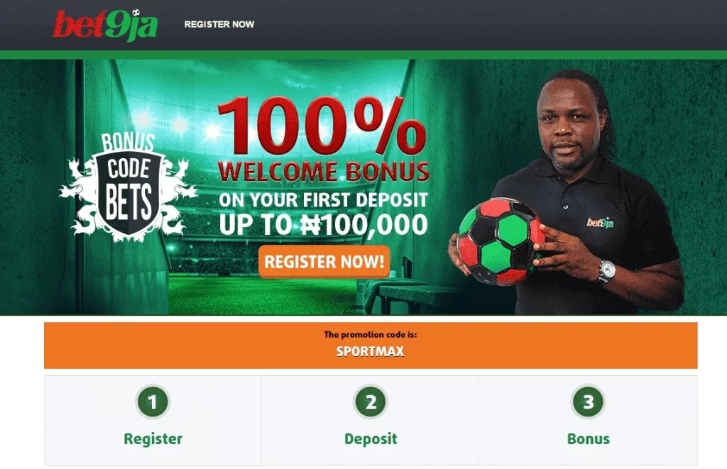 That`s how you may get two options with Bet9ja!