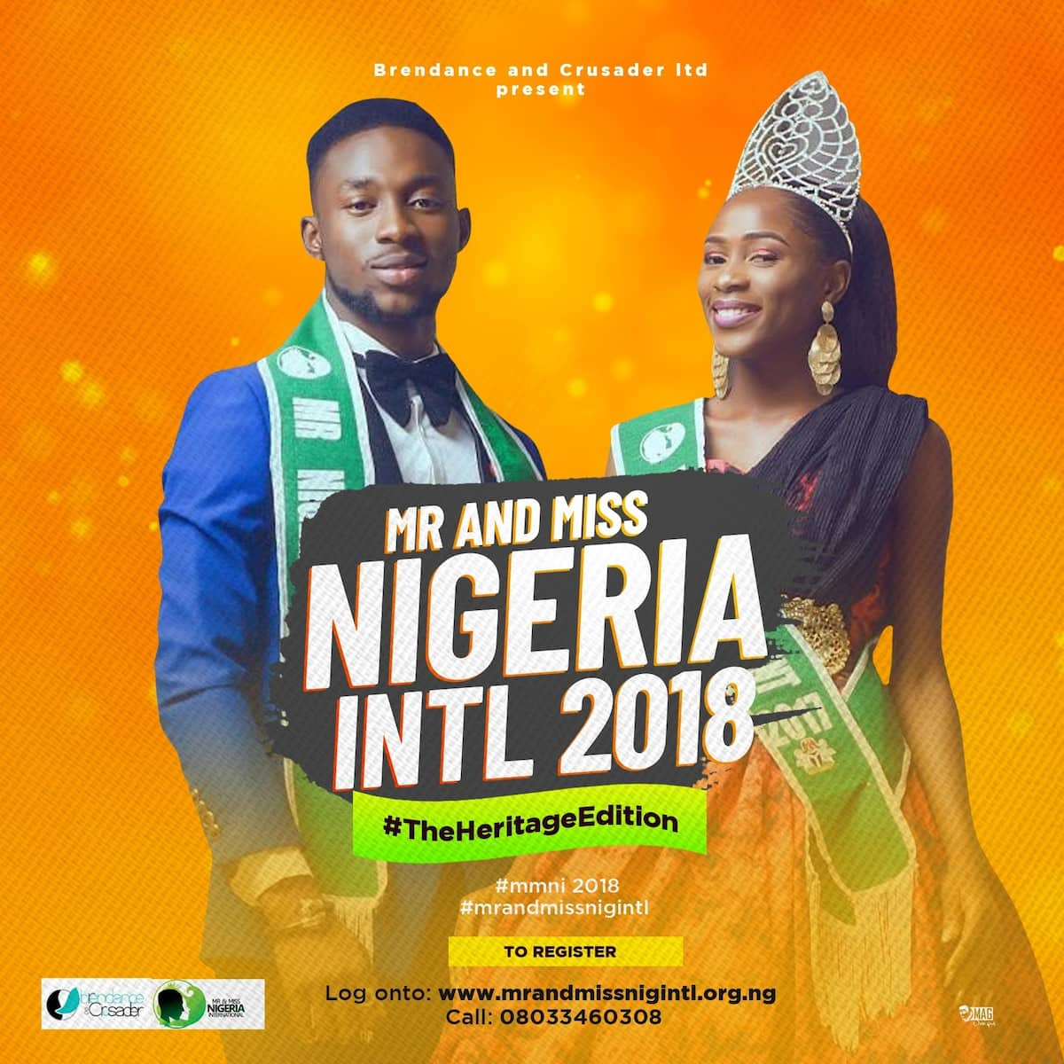 All is set for the 7th Mr and Miss Nigeria International 2018 - The heritage edition