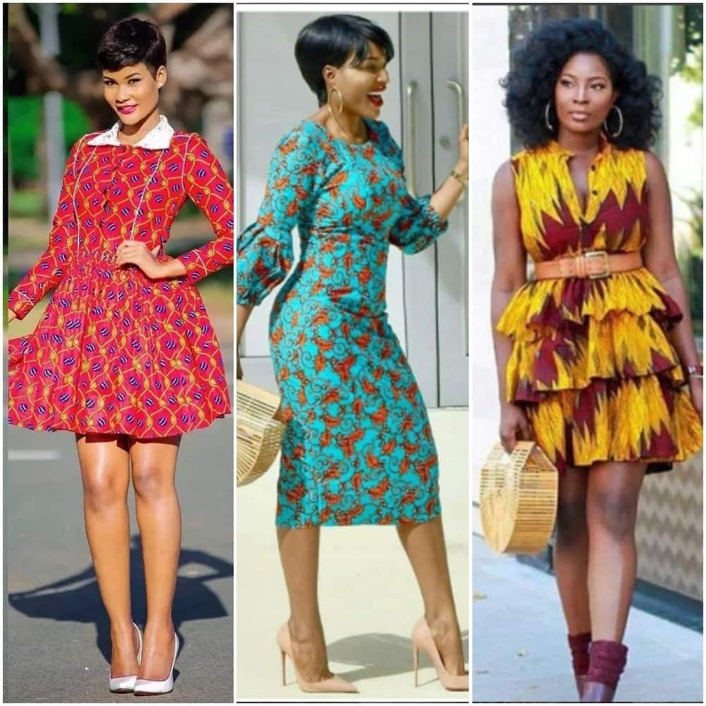 Short gown styles