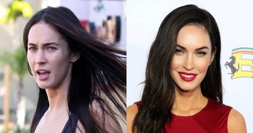 Beautiful without makeup woman most Celebrities Who