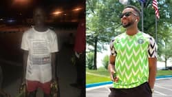 Nigerian actor based abroad offers scholarship to 10-year-old plantain hawker spotted on the street