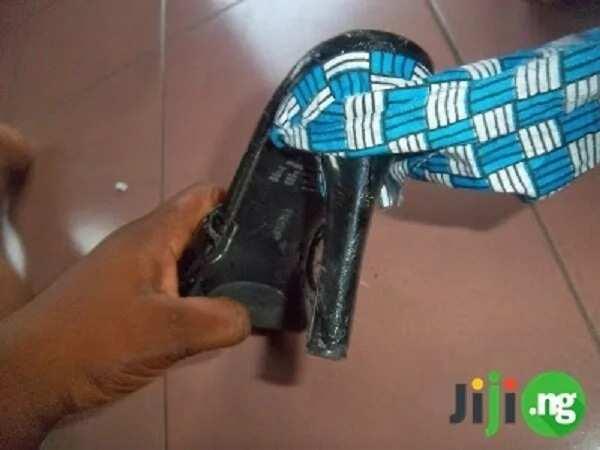 How to make Ankara shoes easily