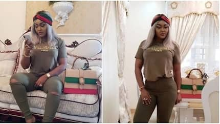 Actress Mercy Aigbe looks stunning in new photos, declares herself Her Excellency