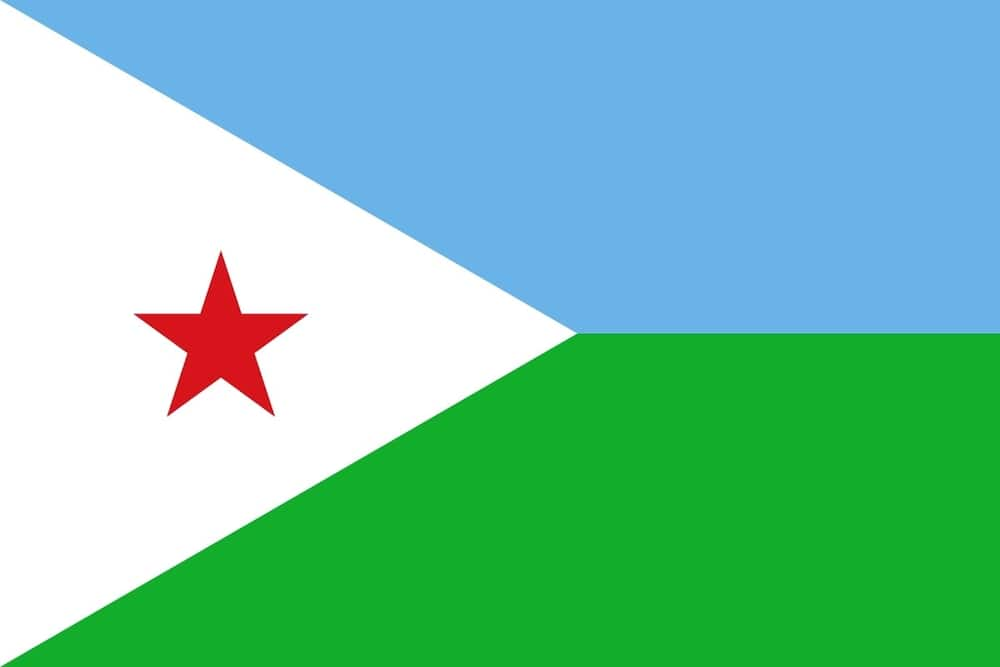 Flag of Djibouti