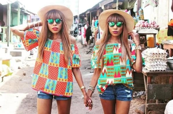 These twin sisters would make you fall in love with african prints