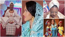 Special moments from traditional Kamu ceremony of billionaire oil mogul Mohammed Indimi's daughters in Maiduguri (photos, videos)