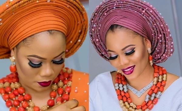 Aso oke designs with beads