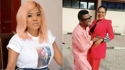 Actress Toyin Abraham asks her publicist, Samuel Olatunji to walk her down the aisle on the big day