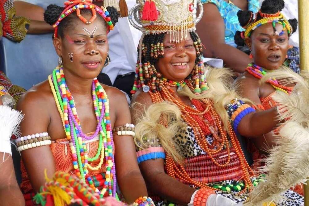 Types of Igbo dressing