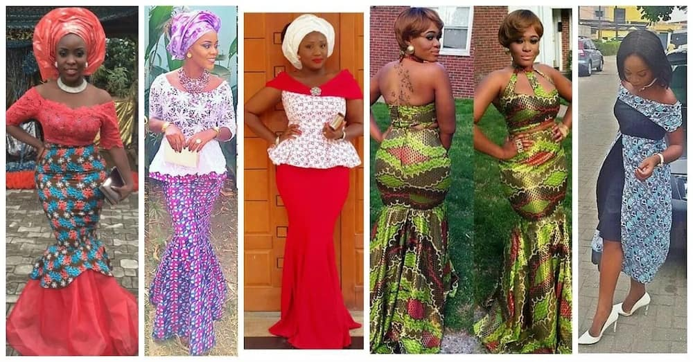 57ae15681d572d Ankara skirt and blouse style for wedding ▷ Legit.ng