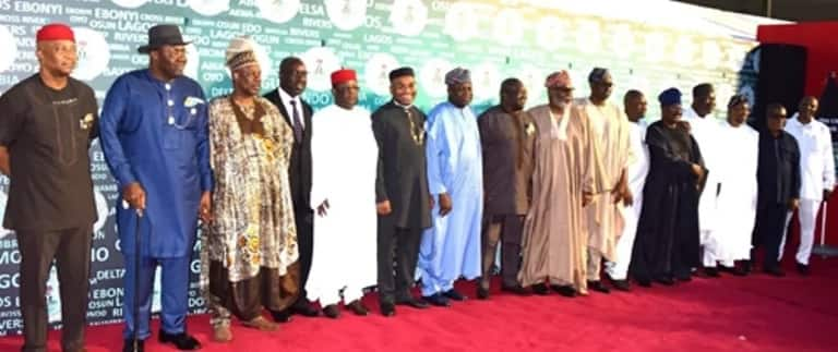The governors met in Lagos 12 years after the first southern governor summit. Photo source: Vanguard