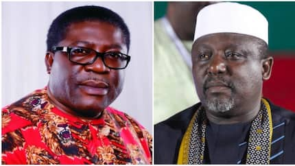 Drama as Okorocha clashes with deputy at burial party
