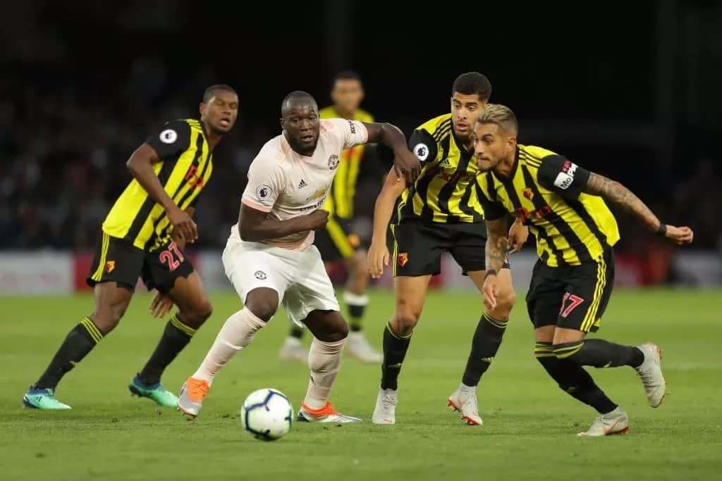 Manchester United hand Watford first EPL defeat as Lukaku, Smalling score