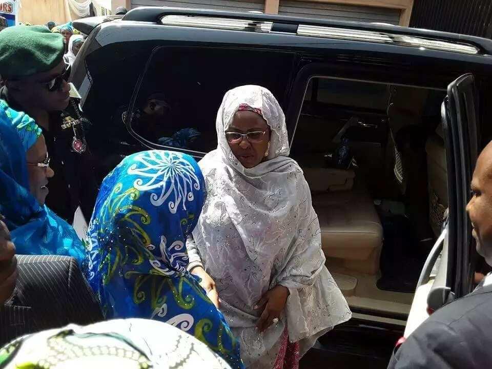 Aisha Buhari ta ziyarci jihar Kano domin kaddamar da cibiyar Gidauniyarta (hotuna)