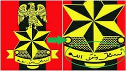 The REAL meaning of the Nigerian army logo revealed (photos)