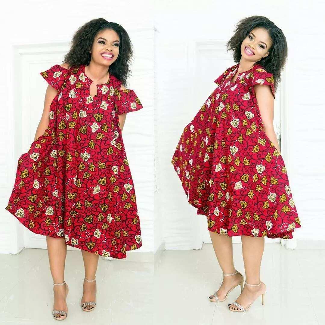 Get Chic In Ankara Gowns Legitng