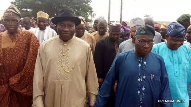 What Obasanjo and Jonathan's discussed when they met