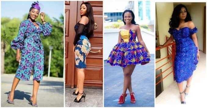 Ankara Short Gown Styles 2018-2019 [Updated] Legit.ng