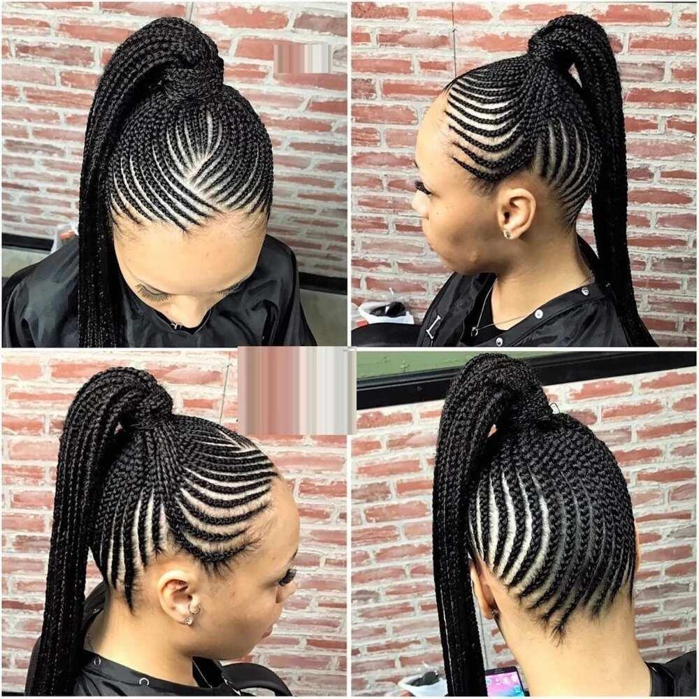 ghana weaving styles for natural hair ▷ legit.ng