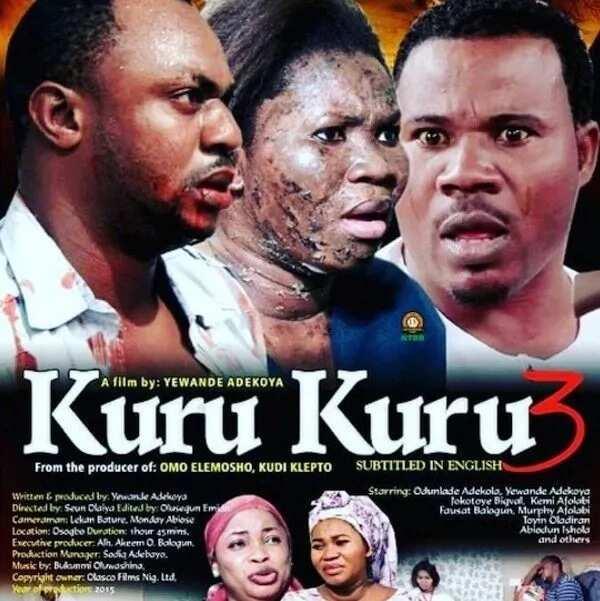 Latest Yoruba movies by Odunlade Adekola