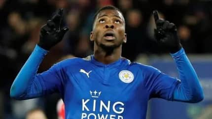 Kelechi Iheanacho creates FA Cup history again after scoring twice in Leicester City's win