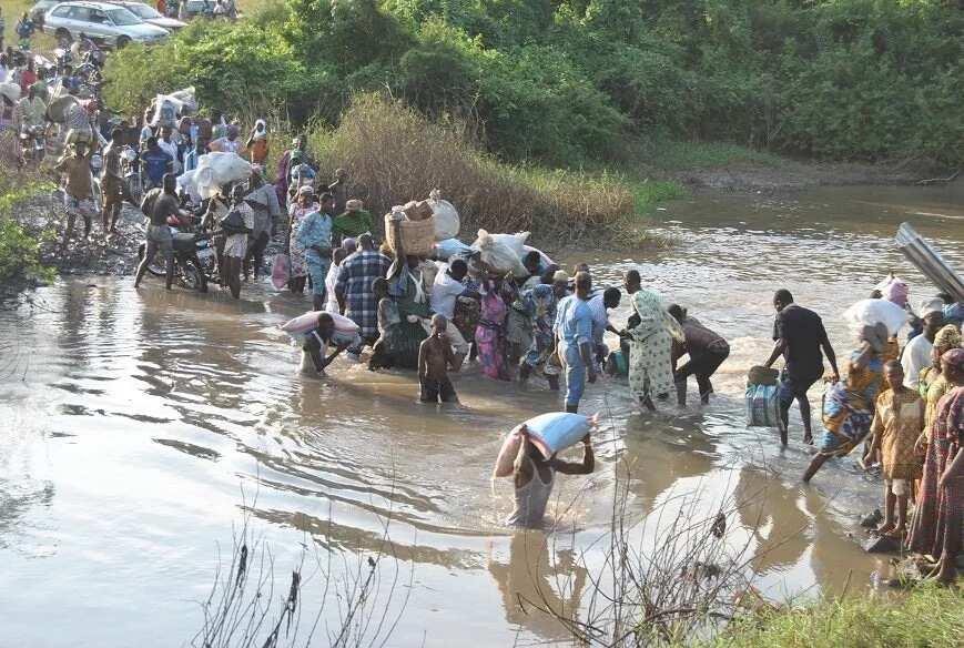 Bailey bridge in Kwara put the lives of Nigerians in danger