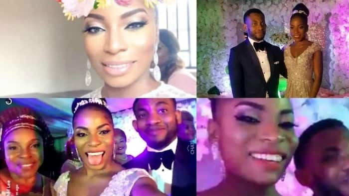 Liz Benson's daughter looks absolutely beautiful at her white wedding (photos)