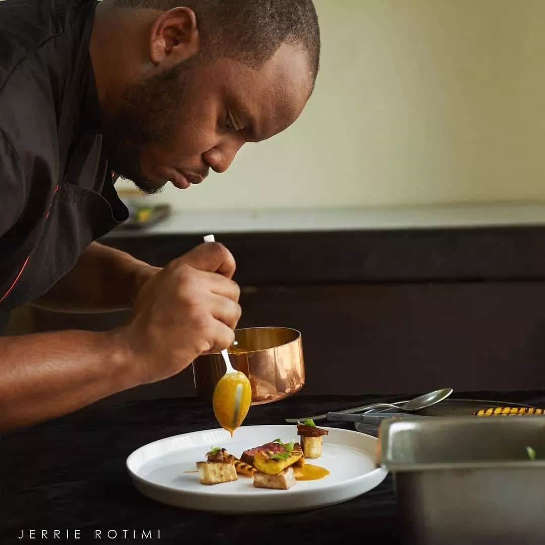 I used to steal recipes from the library in my secondary school days – Chef Fregz