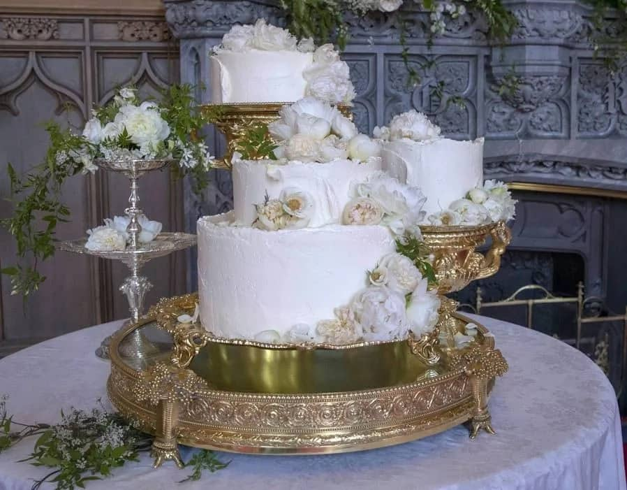 Meghan Markle and Prince Harry wedding cake