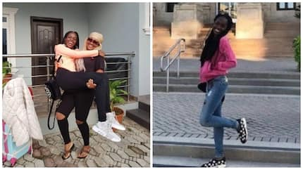 Mercy Aigbe's daughter Michelle enrolls in Canadian university (photo)