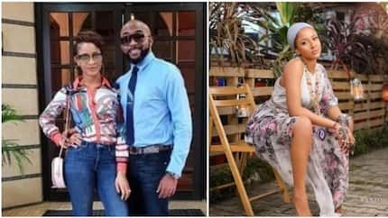 Banky W replies Adesua's fan who vows to marry her in his next life