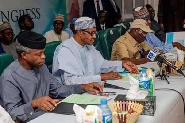 Makomar Oshiomhole a APC: Buhari, Osibanjo, Tinubu, gwamnoni za su gana mako mai zuwa