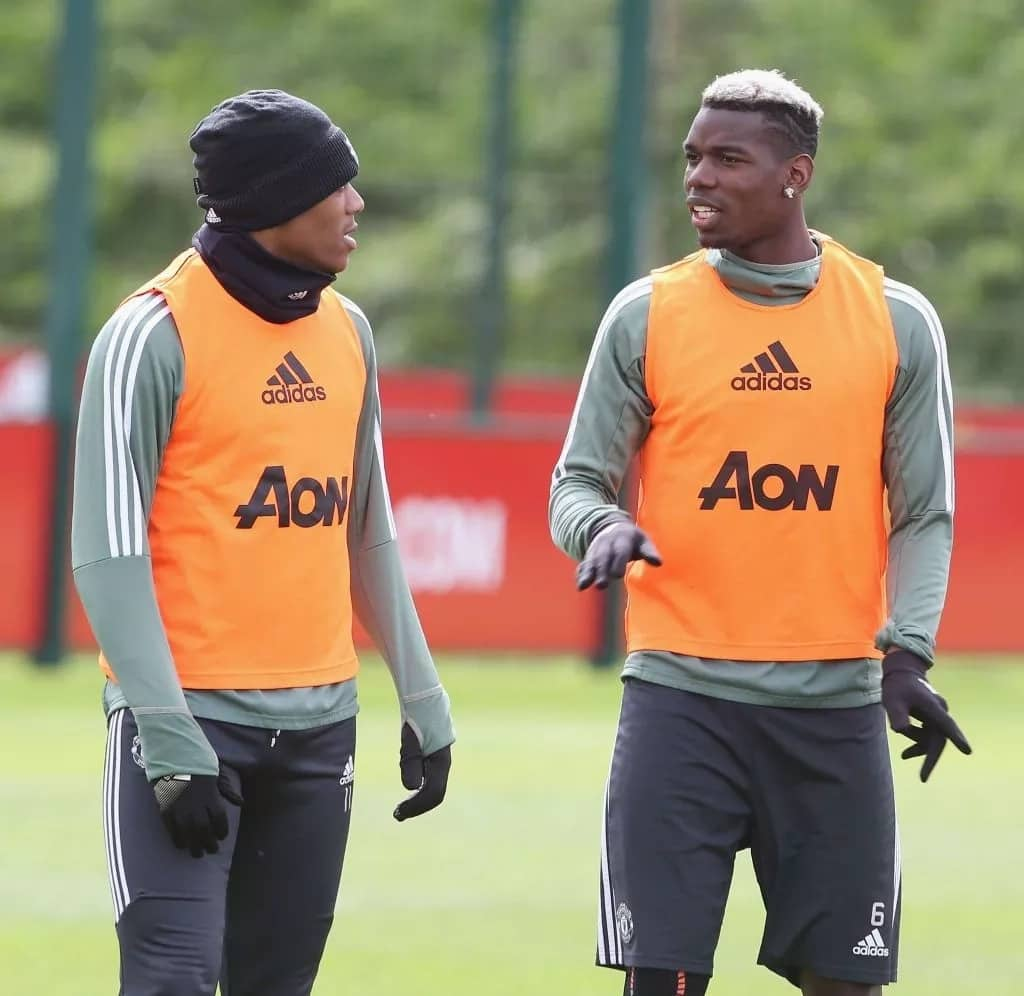 Pogba, Martial want Zidane to replace Mourinho at Man United