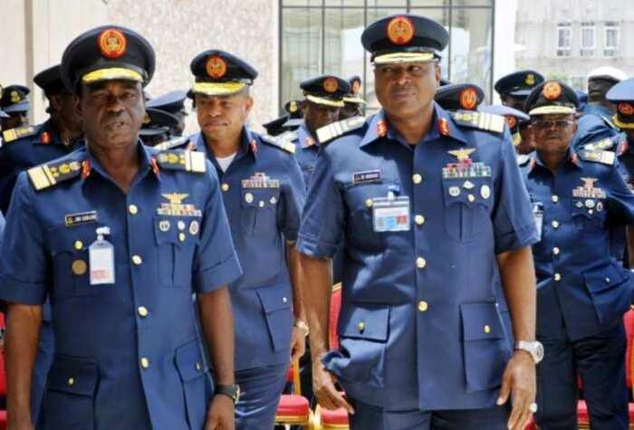 Nigerian Air Force uniform: colours and ranks ▷ Legit ng