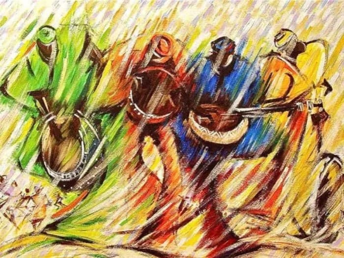 Hausa musical instruments and their names