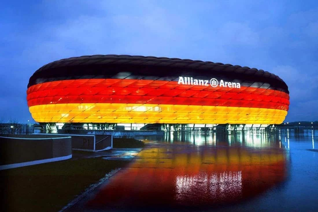 The Allianz Arena