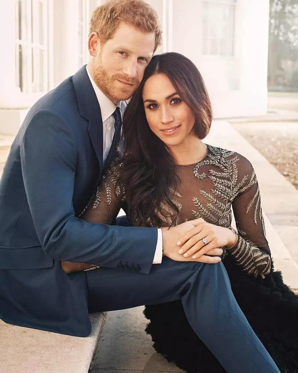 Prince Harry and Meghan engaged
