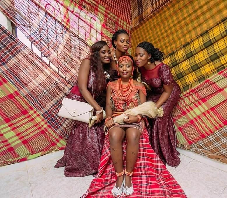 Igbo outfit for wedding