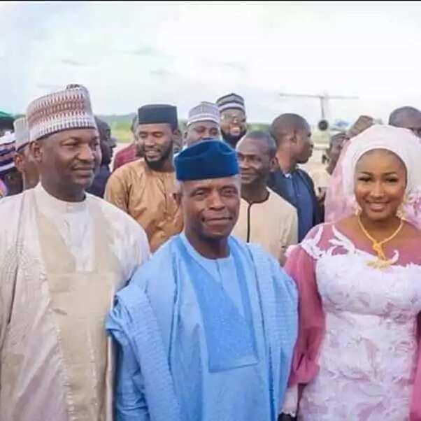 Birnin Kebbi agog as Osinbajo graces AGF daughter's wedding