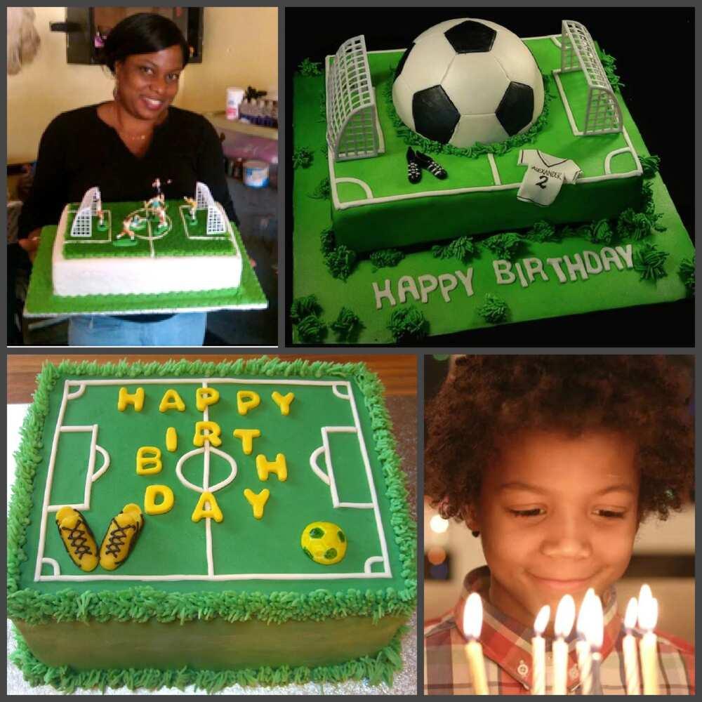 Fine Top Football Pitch Cake Ideas Preparation And Decoration Secrets Funny Birthday Cards Online Aboleapandamsfinfo