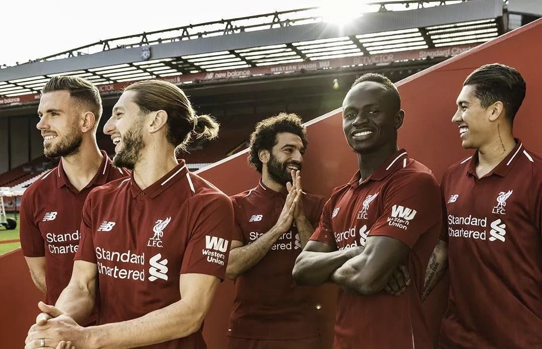 1f3ada8c2 Liverpool set to beat Manchester United s record £75m in new kit deal ▷  Legit.ng