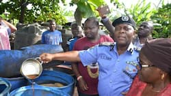 Police uncovers illegal brewery in Lagos (photos)