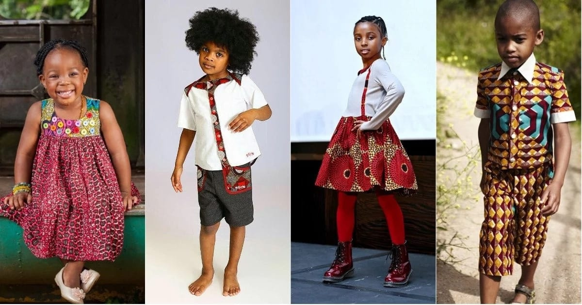 e882f9763 Latest Ankara styles for children to wear in 2018 ▷ Legit.ng