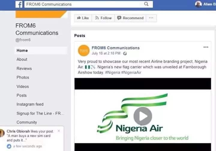 Fact check: Is it true that Nigeria Air's logo was designed by a company in Bahrain?