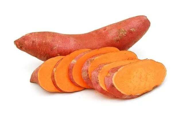 Choose the best sweet potato