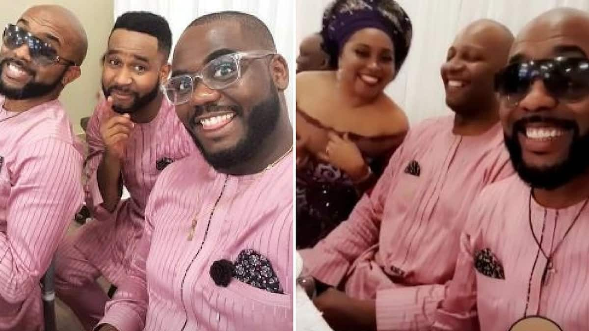 Banky W shares lovely photos from his parents 40th wedding anniversary