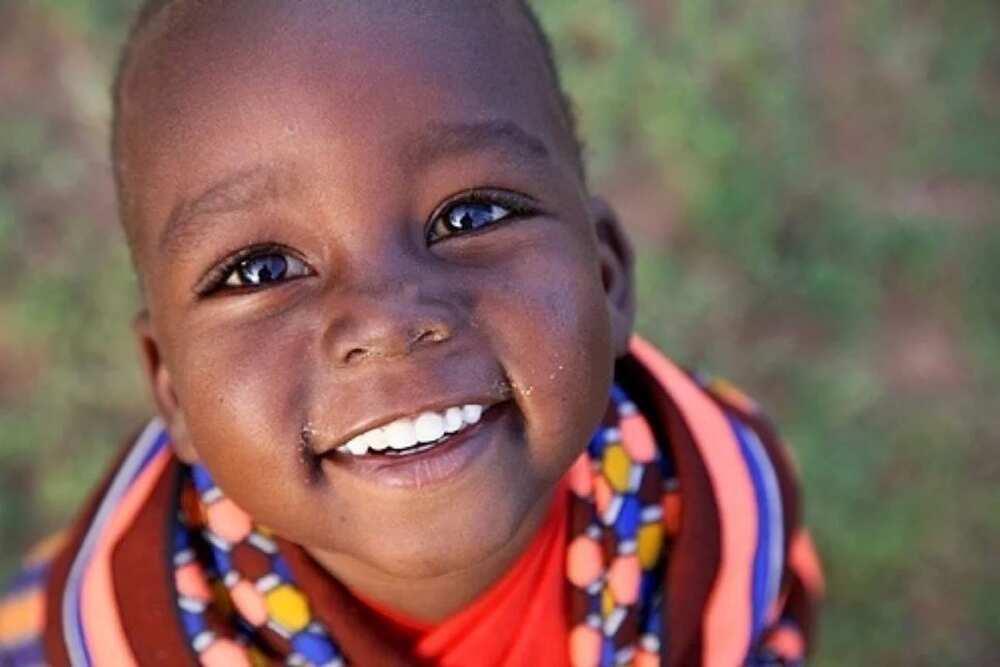Yoruba child