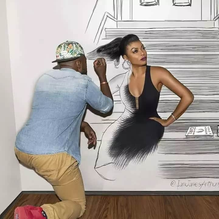 Talented African artist whose drawings look too real to be true
