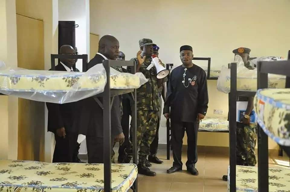 CAS commissions new hostel built by NAF engineers at Air Force school